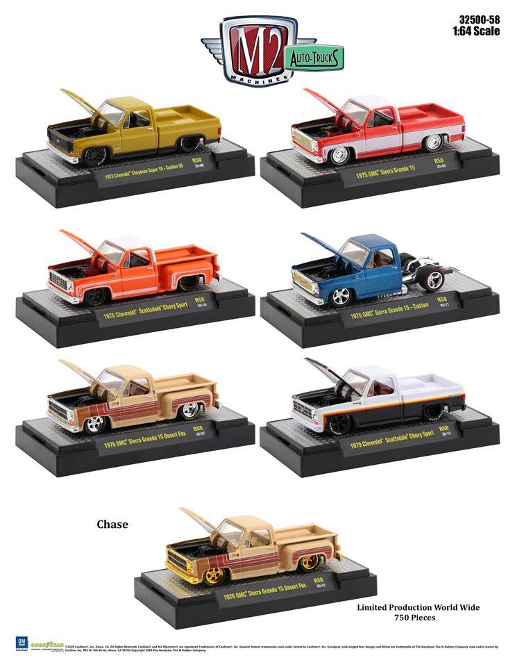 #32500-58 - 1:64 – M2 - Auto-Trucks - Release 58
