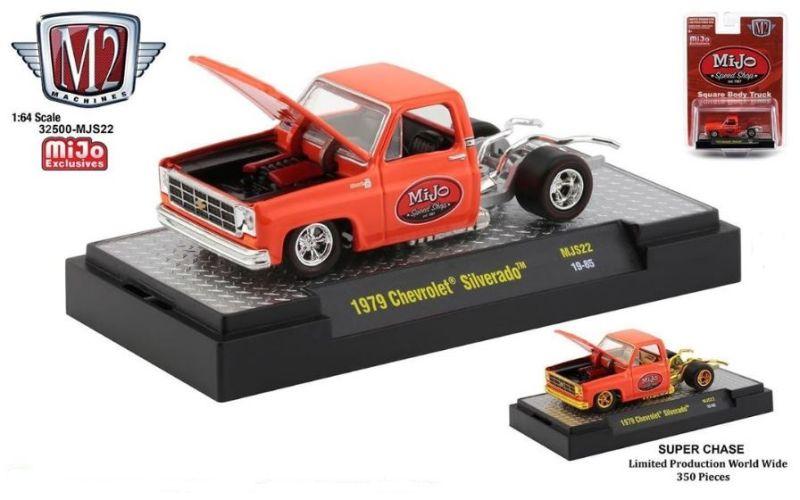 M2 - 1:64 - Auto-Trucks - 1979 Chevrolet Silverado Square Body (No Bed) - MiJo Speed Shop - (MiJo Exclusive) - LIMITED to 4,200 pieces