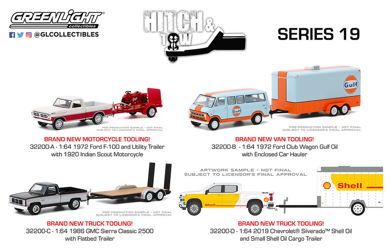 #32200 - GREENLIGHT - 1:64 - HITCH & TOW - SERIES 20