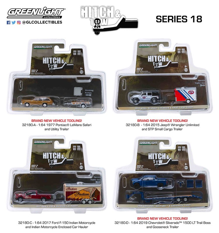 #32180 - 1:64 – GreenLight - Hitch & Tow - Series 18